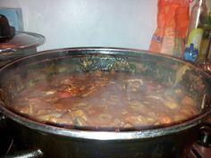 Pittige+rundvlees+stoofschotel