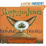 This make-you-laugh book is part of the Skippyjon Jones series. As with the other books, the main character is a Siamese cat that thinks he is a Chihuahua. And, as with the other Skippyjon books, this is a great mentor text for teaching vocabulary. Some complex and novel words include: taboo, donned, hunkered, etc.