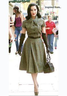 50's style dresses =]