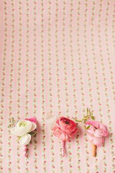 Ranunculus boutonnieres