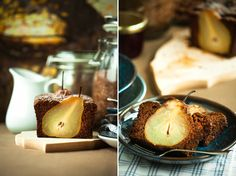 Pear bread pear bread, mood spoon