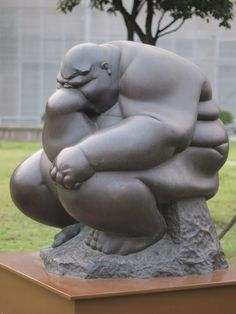 Fat Thinker, Shanghai Sculpture Space by HeyItsWilliam, via Flickr