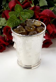 Kentucky Derby Party - the perfect mint julep.