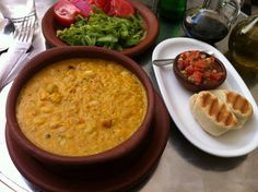 Porotos Granados Con Mazamorra...(beans cooked with porridge (ground corn), onion, squash, tomatoes and garlic. Preference is consumed in summer)