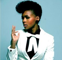 Janelle Monae - A trained entertainer, she can sing and dance FOR REAL, not just what passes for singing and dancing these days. She also references a lot of African-American cultural history which is awesome because it's getting lost and/or attributed to the white people who ripped it off.