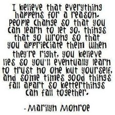 marilyn monroe, life, quotes, reason, favorit, thought, inspir, live, thing