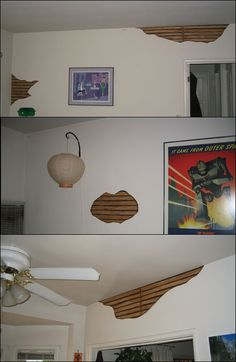 Bust (fake) holes in your walls! Cheap! - HauntForum