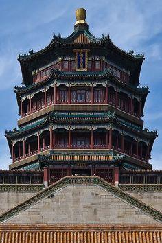 Summer Palace, Beijing, China.