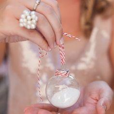 Getting into the holiday spirit: festive snow globe ornament DIY