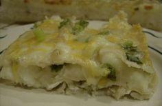 Thanksgiving Leftovers -- Aleas Pierogi Casserole