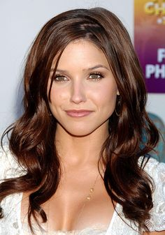 Sophia Bush. I love her. She is so beautiful, but she is one of few Hollywood actresses who seems to value intelligence, is refreshingly honest, and down-to-earth.