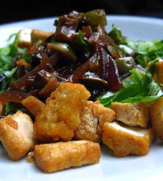 Thai Tofu Salad #vegan #tofu #yummy #recipe #healthy