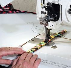 How to Make a dog collar.  At this site, you can also purchase all you need to make collars and leashes.  How cool.