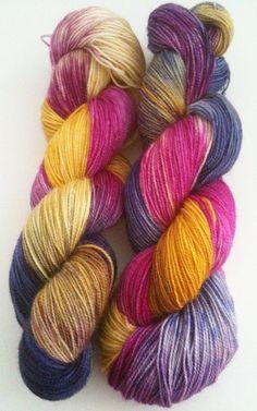 SUPERWASH High Twist Sock (fingering) Yarn 100g - INDIAN SUMMER