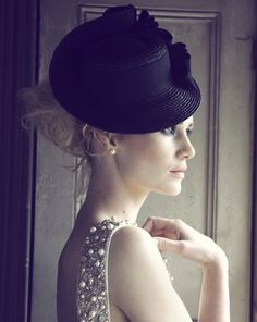 Forties Straw Boater, Jane Taylor Millinery
