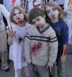 zombie children...I freakin love this! lol