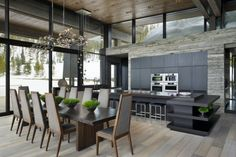 Big Sky Vacation Home - Len Cotsovolos & Lc2 Design