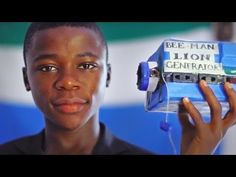 15-Yr-Old Kelvin Doe Wows M.I.T.  See how the power of Making transforms a young man from Sierra Leone #makered #inspiration #edchat #teaching