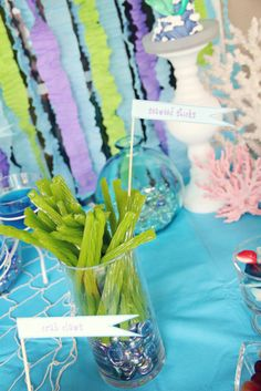Mermaid Party - Seaweed Sticks (green licorice)