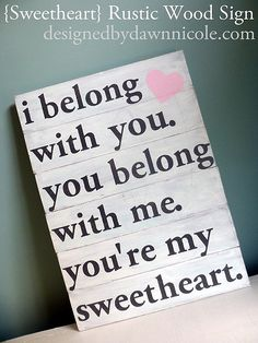 Love this Lumineers song! Happy Valentines Day to my sweetheart! Love you so much❤