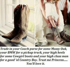I love me a country boy :)