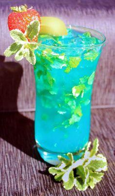 Exotic Blue Hawaiian