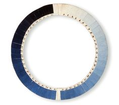 Cyanometer—18thC instrument designed to measure the blueness of the sky invented in 1789 by Swiss physicist Horace-Bénédict de Saussure and German naturalist Alexander von Humboldt, who used the circular array of 53 shaded sections in experiments above the skies over Geneva, Chamonix and Mont Blanc. The Cyanometer helped lead to a successful conclusion that the blueness of the sky is a measure of transparency caused by the amount of water vapor in the atmosphere.