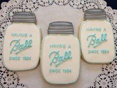 Mason Jar Cookies... Love these!