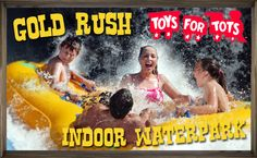 Visit the Gold Rush Indoor Waterpark any day from now until December 21st, & you'll enjoy admission to the waterpark for just $5 when you make a Toys for Tots donation! #PureMichigan