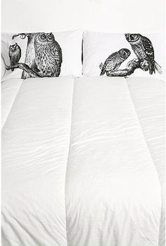 Owls Pillowcase Set thought of this for Jen.