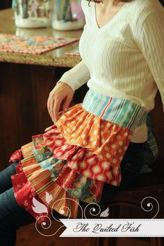 Jana's apron can be made using this tutorial