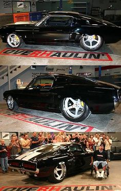 ('67 Ford Mustang Fastback built by Chip Foose's Team at Overhaulin')