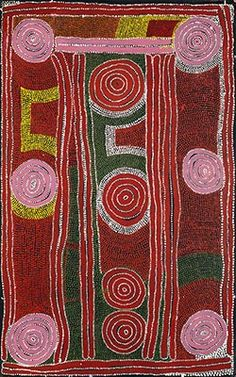 Paddy Jupurrula Nelson, Karrku, 1997, acrylic on canvas.