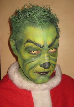 how to make a grinch prosthetic