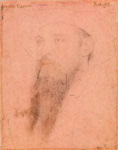Sir Gavin Carew, Knight ~ Hans Holbein the Younger