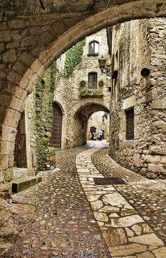old cities with stone buildings