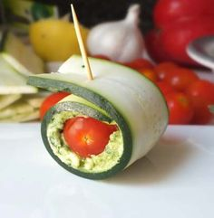 Zucchini Pesto Roll-ups | Simple Dish | Quick, Easy, & Healthy Recipes for Dinner