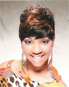 short quick weave 27 pieces remi hair sold at A Heavenly Place In Hair