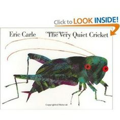 Book, The Very Quiet Cricket by Eric Carle