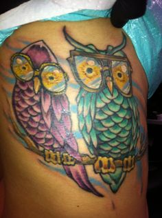 My tattoo for THE best grandparents ever! ....its an idea!