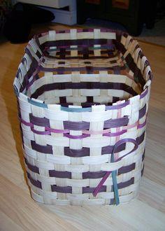 Step Basket wood bottom