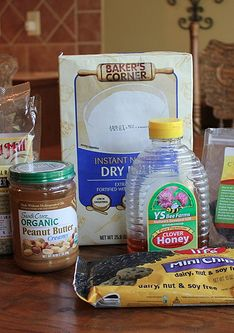 Homemade Peanut Butter Playdough My kids loved this -- especially since it's edible!