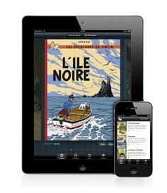 Tintin books on iPad