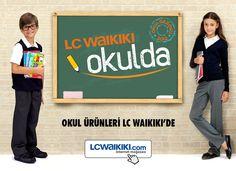 Okul alışverişi için çantadan kalemliğe, ayakkabıdan süvetere en şık seçenekler yine LC Waikiki'de.   www.lcwaikiki.com  #lcwaikiki