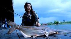 Thai Fishing Girl - Fishing Video