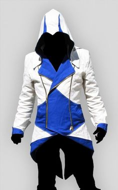 YES PLEASE. I WOULD WEAR THIS ALL THE DAYS. Assassins III conner kenway Hoodie Jacket