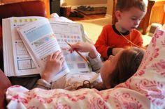 Blogs, Bathrobes, and Homeschooling
