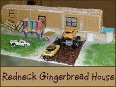 Redneck Gingerbread House
