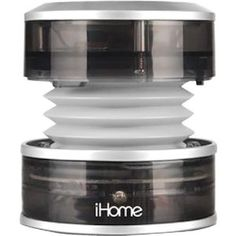 Amazon.com: iHome iHM60GT 3.5mm Aux Portable Speaker (Gray Translucent): MP3 Players & Accessories
