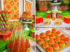 orange+green